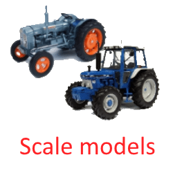 Ford tractor scale models